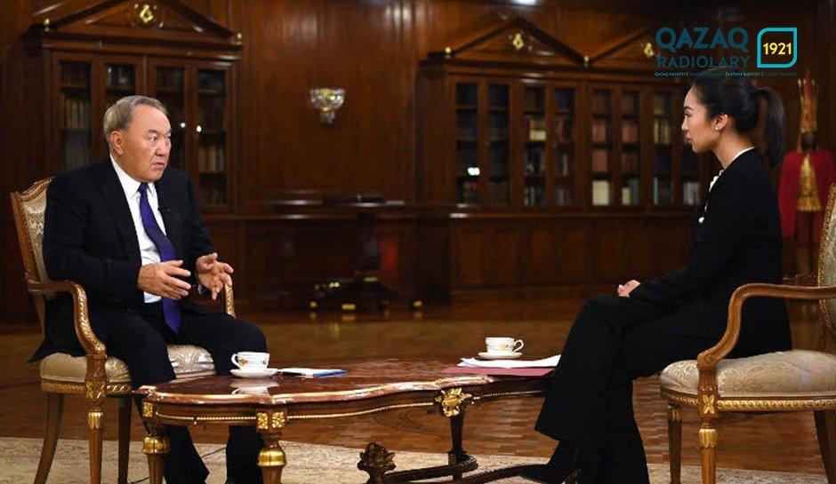 Елбасы Н.А. Назарбаев CCTV телеарнасына сұхбат берді