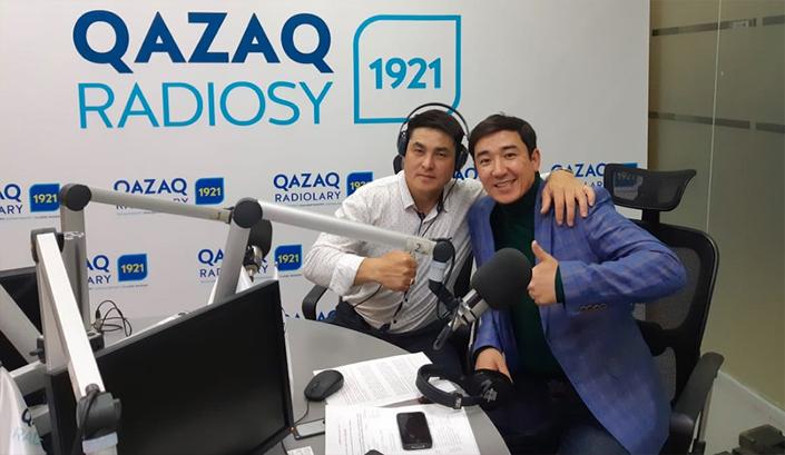 Спортшы құпиясын Қазақ радиоларына ашты